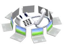 serviceservice Royaltyfri Bild