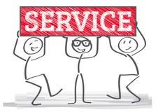 Serviceteam Stock Images