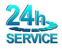 Servicetecken Royaltyfri Fotografi