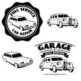 Servicio completo del coche Fotografía de archivo libre de regalías