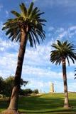 Servicio de ANZAC Dawn del monumento de Freemantle 100o Imágenes de archivo libres de regalías