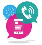 Servicio de atención al cliente y atención al cliente ilustración del vector