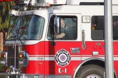 Servicio de fuego y de rescate Fotografía de archivo libre de regalías