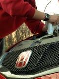 Servicio de Honda Imágenes de archivo libres de regalías