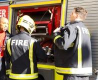 Servicio de incendios Fotos de archivo libres de regalías