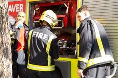 Servicio de incendios Imagenes de archivo