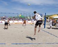 Servicio de la bola de playa Imagenes de archivo