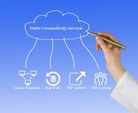 Servicio de la conectividad de los datos Foto de archivo libre de regalías