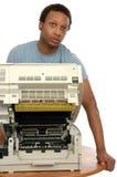 Servicio de la copiadora Foto de archivo libre de regalías