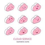 Servicio 2 de la nube Fotografía de archivo