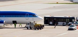 Servicio de lanzadera del VIP, aeropuerto Tegel Foto de archivo