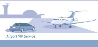 Servicio de pasajeros del VIP o de la clase de negocios Fotografía de archivo libre de regalías