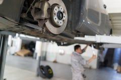 Servicio de reparación auto Foto de archivo