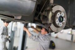 Servicio de reparación auto Imagen de archivo libre de regalías