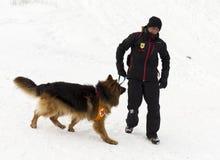 Servicio de rescate de la montaña Fotos de archivo