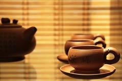 Servicio de té Imágenes de archivo libres de regalías