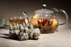 Servicio de té Imagenes de archivo