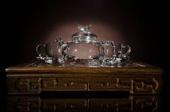 Servicio de té Imagen de archivo libre de regalías