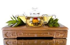 Servicio de té Fotos de archivo libres de regalías