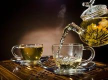 Servicio de té Fotografía de archivo libre de regalías