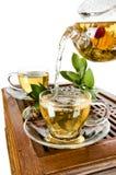 Servicio de té Fotografía de archivo