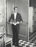 Servicio de té foto de archivo