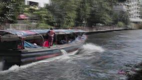 Servicio del barco de Bangkok