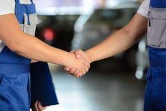 Servicio del coche Imagen de archivo libre de regalías