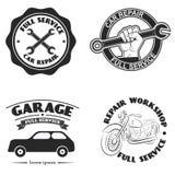 Servicio del coche Imágenes de archivo libres de regalías
