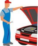 Servicio del coche libre illustration