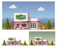 Servicio del coche del vector stock de ilustración