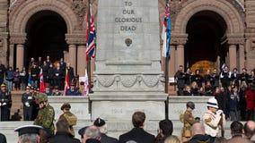 Servicio del día de la conmemoración Imagenes de archivo