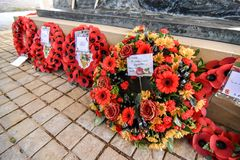 Servicio del día de la conmemoración, caza de Cannock Foto de archivo libre de regalías