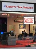 Servicio del impuesto Imagen de archivo