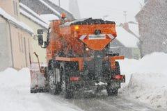 Servicio del invierno Imágenes de archivo libres de regalías