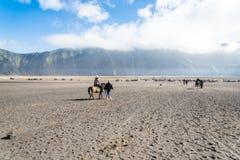 Servicio del montar a caballo Fotografía de archivo libre de regalías