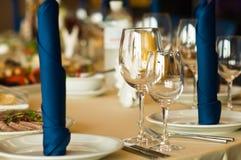 Servicio en restaurante Fotos de archivo libres de regalías
