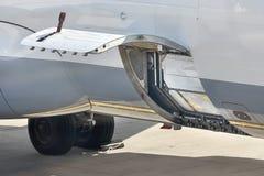 Servicio en tierra de los aviones Imagenes de archivo
