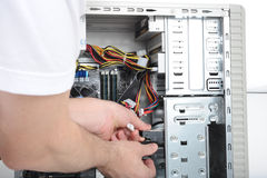 Servicio informático Fotografía de archivo libre de regalías