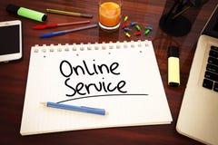 Servicio online Fotografía de archivo