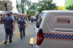 Servicio policial de Queensland (QPS) - Australia Imágenes de archivo libres de regalías