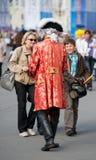 Servicio turístico en St Petersburg Imágenes de archivo libres de regalías