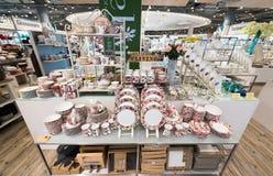 Servicios de China en Siam Paragon Mall, Bangkok Foto de archivo libre de regalías