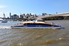 Servicios de transbordador de Brisbane CityCat Fotografía de archivo