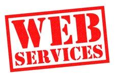 Servicios de Web Foto de archivo