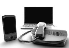 Servicios del Telco Imagen de archivo libre de regalías
