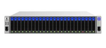 servidor de la Portador-clase para el bastidor de soporte de 19 pulgadas con veinticuatro 2 discos duros 5-inch stock de ilustración