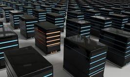 Servidor de la sobrecarga Imagen de archivo libre de regalías