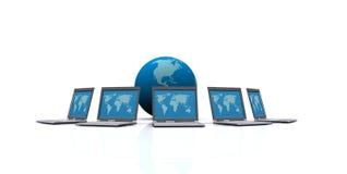 Servidor de red Imagen de archivo libre de regalías