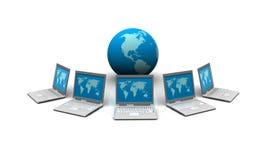 Servidor de red Foto de archivo libre de regalías